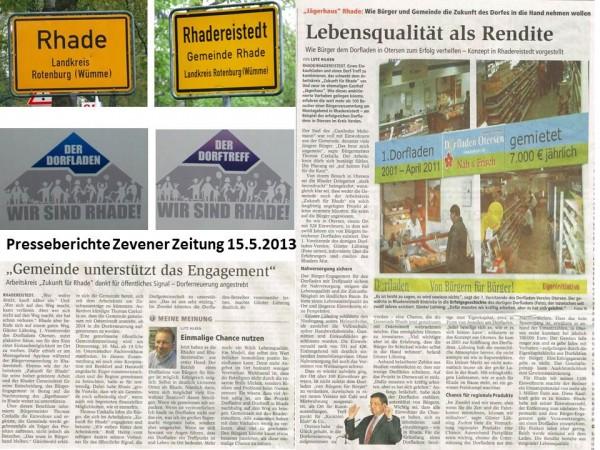 Rhade Zevener Zeitung