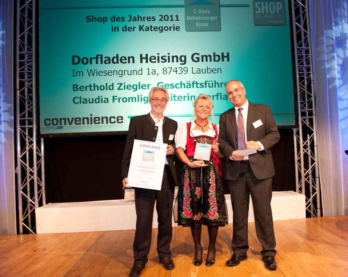 Berthold Ziegler, Claudia Fromlig und Hans-Jürgen Krone | Foto: lpv-verlag