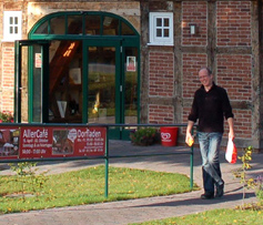 Dorfläden ermöglichen Einkauf zu Fuß