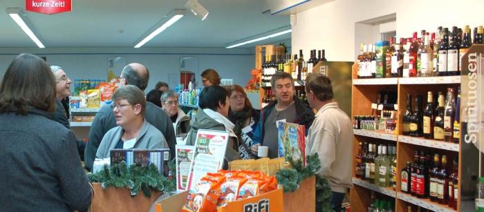 78 Teilnehmer des DVS-Workshops besichtigten den Dorfladen Otersen