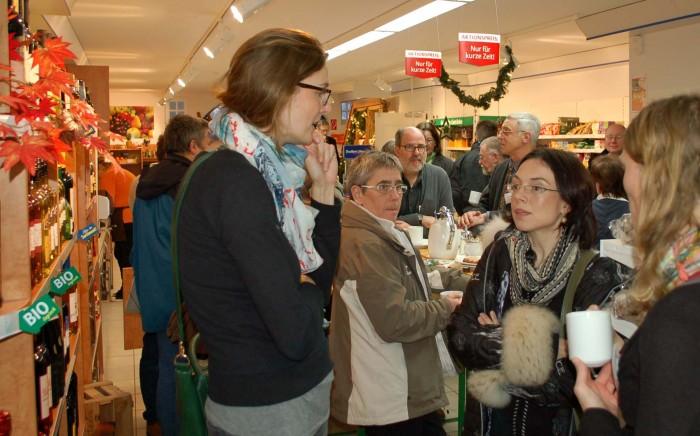 """""""Volles Haus"""" auf 180 qm Verkaufsfläche im Dorfladen Otersen"""