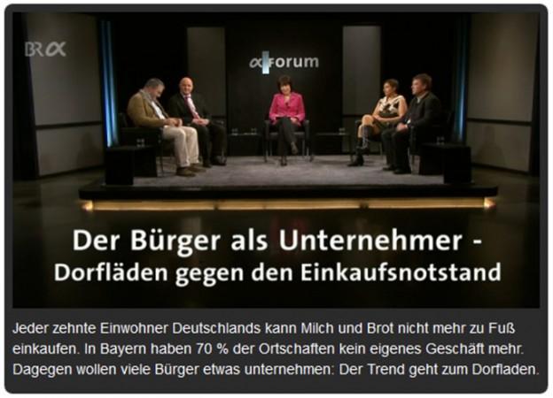 Bayerisches Fernsehen_Talkrunde Dorflaeden Kopie