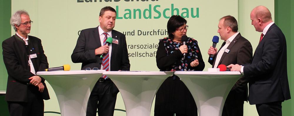 Dorfladen-Gesprächsrunde mit Geschäftsführer Anton Brand (Gleiritsch)