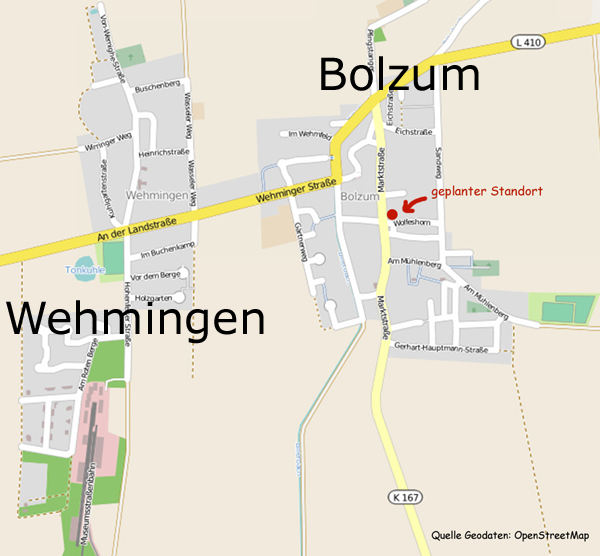 Ortsplan Wehmingen_Bolzum