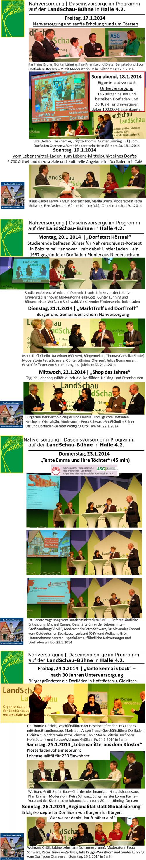 Dorflaeden 10 Tage auf LandSchau-Buehne2