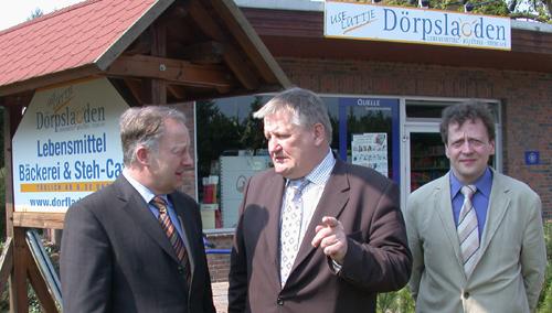 16. April 2004: Netzwerk-Gründung in Otersen mit Minister Ehlen