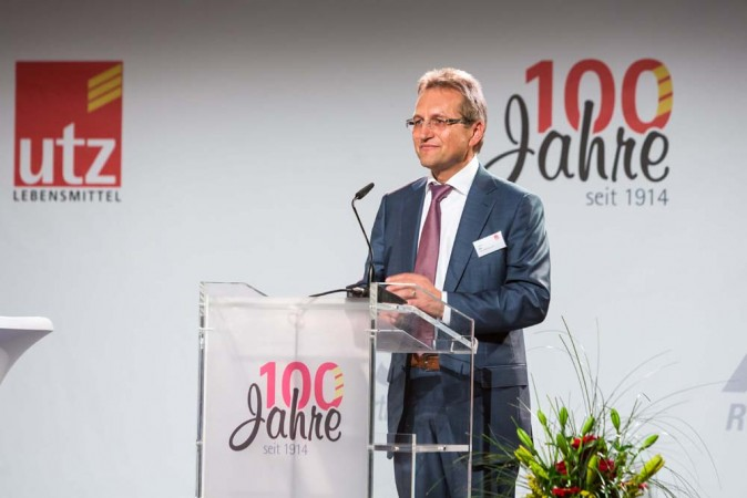 """Jubiläumsfeier """"100 Jahre Utz"""""""