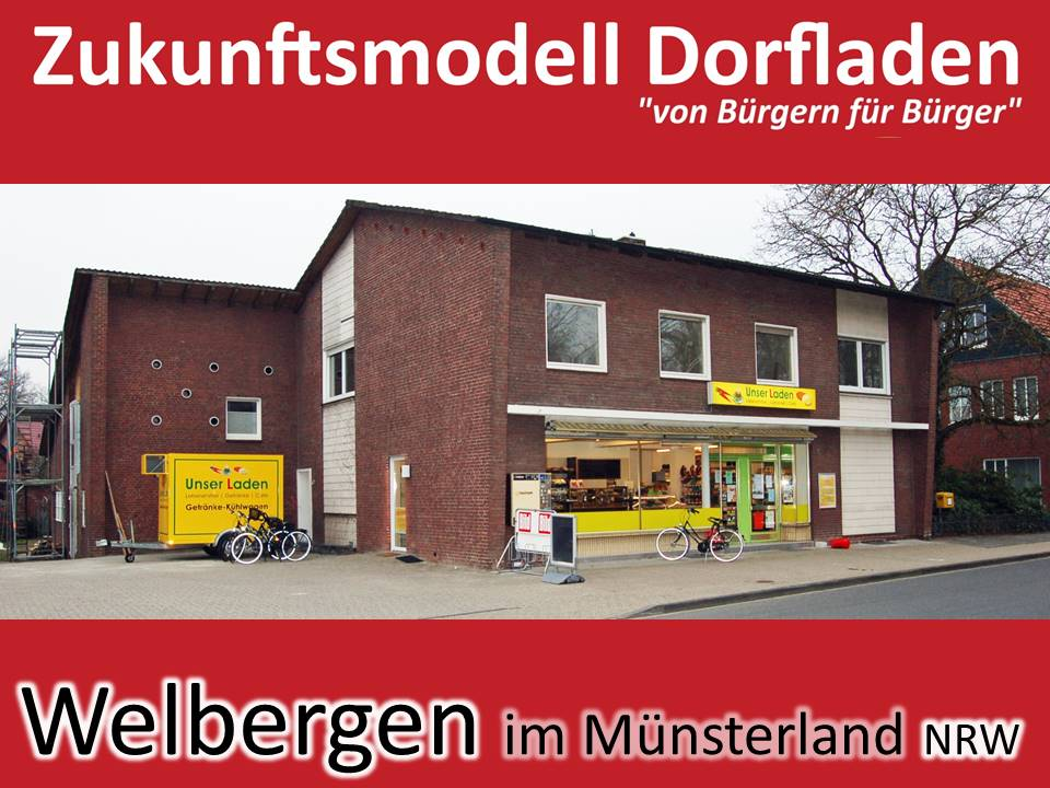 """""""Unser Laden"""" in Welbergen: 95 % der Haushalte haben sich mit 180.000 € Eigenkapital beteiligt"""