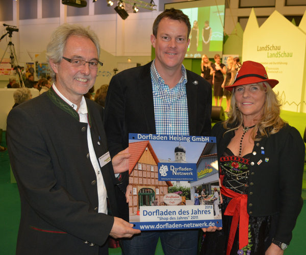 Berthold Ziegler, Jens Schröder und Claudia Fromligt