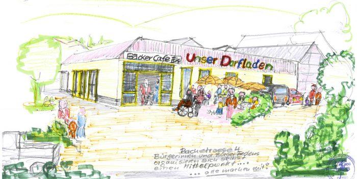 Bürgerladen in Freden im ehemaligen Getränkemarkt?