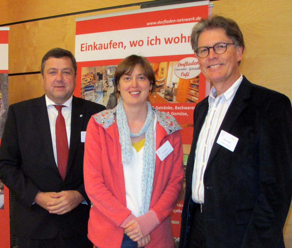 Günter Lühning (Otersen), Frauke Lehrke (Bolzum) und Winfried Winter (Adelheidsdorf) Foto: Strüber